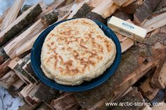 Bannock. 4 c flour, 1 tsp salt, 4 tsp baking powder, about 1 cup milk (enough to make dough) Knead with lots of butter on hands and counter. fry or cook on sticks over campfire