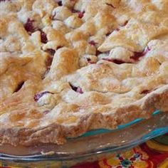 Mom's Cranberry Apple Pie - Thanksgiving?