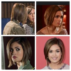 Nicole Gale Anderson from Ravenswood. I really love her hair. Next time I get an urge to cut my hair short I'm gonna do this.