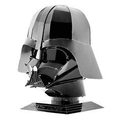 Shop online Fascinations Metal Earth Star Wars Darth Vader Helmet Metal Model Kit at Aliens Poop Metal Earth Models, Metal Models, Scale Models, Darth Vader Face, Star Wars Darth, Vader Helmet, Metal Model Kits, Star Wars Luke Skywalker, Anakin Skywalker