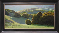 Spring in the Rolling Hills by Kevin Courter Oil ~ 24 x 48