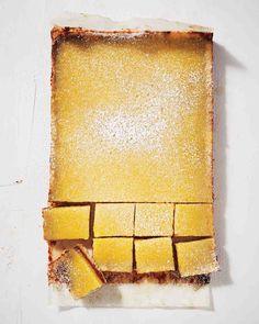 Lemon-Date Bars | Martha Stewart Living Feb 2015