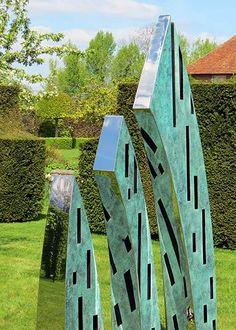 'ÉVÈQUE' Garten Skulptur aus Bronze