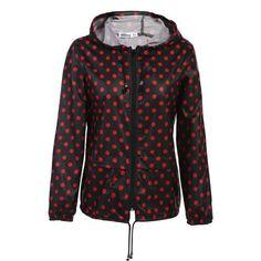 Meaneor thin trench coat for Women Windbreaker Hooded 2017 autumn winter Lightweight Waterproof Sun protection casual coat Black