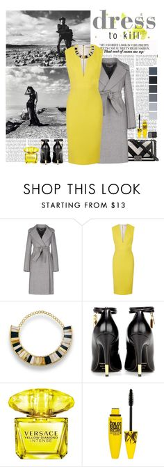 """""""dress to kill"""" by sekarnindyapalastri ❤ liked on Polyvore featuring Redemption Choppers, Chanel, STELLA McCARTNEY, Victoria Beckham, Hissia, Tom Ford, Versace, Maybelline and NARS Cosmetics"""
