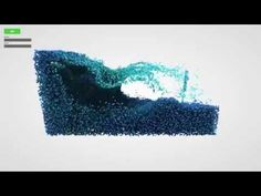 Fluid Particles: Real-time particle-based 3D fluid simulation - YouTube Fluid Mechanics, Ambient Occlusion, Base, Make It Yourself, Sim, Physics, David, Technology, Youtube