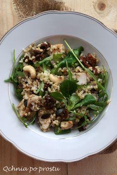 Pasta Salad, Sprouts, Vegetables, Ethnic Recipes, Food, Dinner, Bulgur, Crab Pasta Salad, Essen