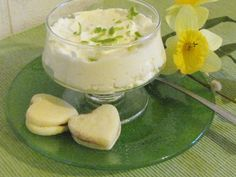 Finnish Recipes, Sorbet, Danish, Mousse, Good Food, Food And Drink, Ice Cream, Pudding, Baking