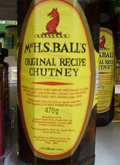 Mrs Balls chutney recipes