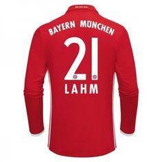 Bayern München 16-17 Philipp #Lahm 21 Hemmatröja Långärmad,304,73KR,shirtshopservice@gmail.com