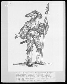 Landsknecht Woodcuts   Germanisches Nationalmuseum plate A5