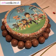 Gâteau avec disque dessiné Birthday Cake, Desserts, Food, Discus, Dibujo, Tailgate Desserts, Birthday Cakes, Deserts, Meals