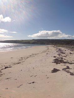 American Beach on Dudley peninsula. Kangaroo Island.