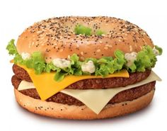 Looks like McDonalds is looking to cash in on the bagel craze... in France?