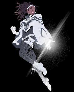 monica rambeau, an art print by stephen mcdowell - INPRNT Marvel Women, Marvel Girls, Marvel Art, Marvel Heroes, Captain Marvel, Marvel Comics, Marvel Comic Character, Character Art, Minions