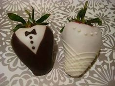 Cute chocolate covered strawberries