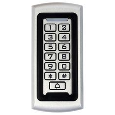 For RFID Proximity 125Khz EM ID Access Control Waterproof Metal Case with Luminous Keypad & Anti-vandal System F1212D #women, #men, #hats, #watches, #belts, #fashion, #style