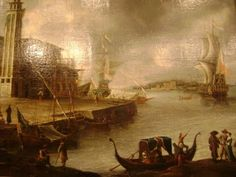 antiquaire-marine-peintres de marine: Jan Abrahamez Beerstraten