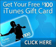 Free $100 iTunes Card!