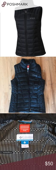 Columbia Thermal Coil vest EUC Minimally worn No signs of wear, perfect condition Very warm! Columbia Jackets & Coats Vests