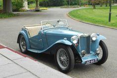 MG TC Midget 1949