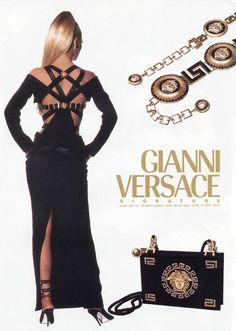 Gianni Versace fw 1992 by Irivng Penn