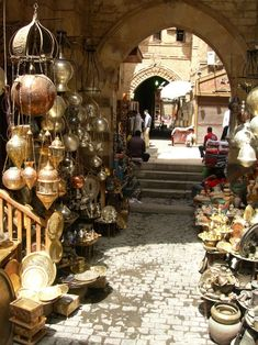 When will I be shopping here? Old Cairo, Egypt