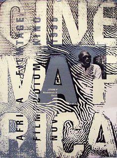 ByRalph Schraivogel, 1 9 9  5,  Festival de films africains.