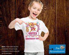 Paw Patrol Birthday shirt/ Paw Patrol shirt/ Paw Patrol Family shirts/ Mom Patrol/ Dad Patrol/ Bro Patrol/ tshirt/ tee/ t shirt/ t-shirt Birthday Boy Shirts, Girl Birthday, Family Shirts, Boys Shirts, Paw Patrol Shirt, Paw Patrol Birthday, First Class Shipping, How To Make Tshirts, Personalized Shirts