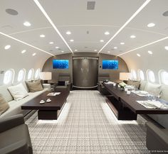 Boeing 787 Dreamliner Converted to Private Jet - Core77
