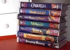 Disney VHS!