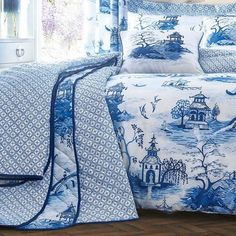 Blue And White Bedspreads Uk Blue And White Bedspreads Uk has develop into intimidating to choose from with the big variety of styles, colours, supplies and sizes. However intimid. Light Blue Bedding, Blue Bedding Sets, Blue Willow China, Blue China, White Bedspreads, Comforters, Chinoiserie Chic, Himmelblau, White Rooms