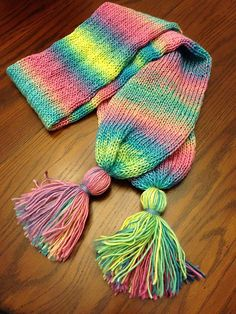 Addi Tassel Scarf - Knitting - Addi King Size
