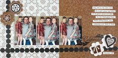 celebrate Father's Day and everyday - photo book or scrapbook, digital or traditionally hand-made, with Creative Memories' Divine Power Palette