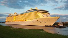 Quantum of the Seas ~ Royal Caribbean International's New Quantum of the Seas Successfully Completes Conveyance | Popular Cruising (Image Copyright © Royal Caribbean International)