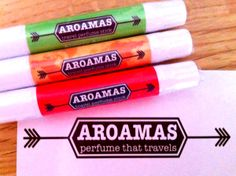 Aroamas travel perfume review