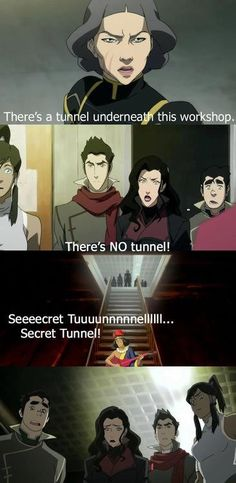 I would of died of laughter if someone started singing the Secret Tunnel song XD
