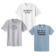Share and Save an Extra 10% off Funny T-Shirt 3 Pack