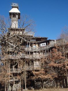 7 Story Treehouse Crossville TN