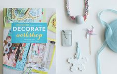 BloesemLiving is GivingAway a copy of 'Decorate Workshop'. STEP 1: Repin this image to one of your boards.  STEP 2: Leave your name in the comment box below.  WINNER will be chosen randomly on DECEMBER 7. -GIVEAWAY IS CLOSE-