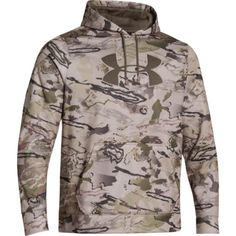 Under Armour Men's Armour Fleece Camo Big Logo Hoodie * Be sure to check out this awesome product. Under Armour Men, Outdoor Outfit, Camping Gear, Military Jacket, Camo, Hoodies, Big, Sweaters, Stuff To Buy