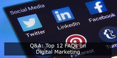 Businesses, marketers and entrepreneurs often have questions related to online marketing. You might find answers to most of them on the internet at different sites. Top Digital Marketing Companies, Content Marketing Strategy, Email Marketing, Social Media Marketing, Blog Writing, Internet