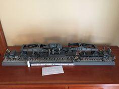 Dora rail gun model by Mike Ragonese