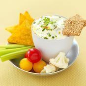 Dip de fromage blanc aux asperges et curry - une recette Entre amis - Cuisine