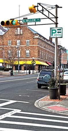 """Montclair's """"main street"""", Bloomfield Ave. with the Wellmont Theater in view. #MontclairNJ"""