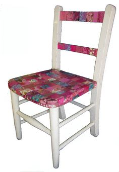 Decopatch chair (from The Decopatch Place, Witney).