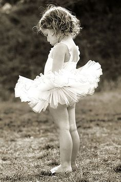 baby ballerina by queen's lace, via Flickr