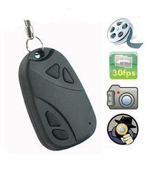 Hidden Camera | Mini video hidden car key camera car key chain camera DV 808