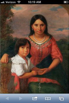 Pocahontas and her son, Thomas Rolfe. Many in this country and England are directly related to these two, and I am one of them...Pin if you are too!