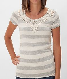 Daytrip Lace Inset Top #Buckle LOVE!!